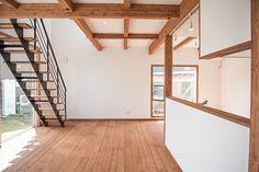 秋田市桜台ふつうの住宅地に建つ非凡な家|施工例2