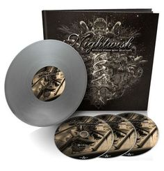 """Endless Forms Most Beautiful (Earbook Deluxe Silver), Book + 3CD + 10"""" - Nightwish"""