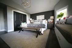 It's finally here!!! For the last six weeks you've followed us as we tackled the one room challenge!We are beyond excited to reveal our final master bedroom makeover for all of you!