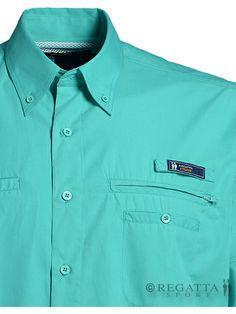 Quieres ir a la moda y bien presentable donde quiera que vayas? #Camisa #RegattaSport Aventura Avt-128 excelente...