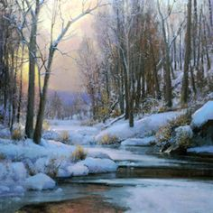 Plein Air in Winter, a Group Show of Paintings & Original Prints, January 1 - 30, 2012