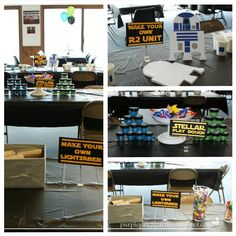 The Purple Patch: Star Wars Birthday Party.  LOTS of ideas
