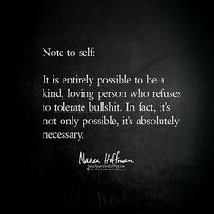 Note to self...