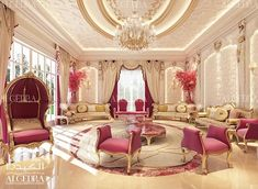 Majlis Interior Design Photos by Algedra Interior UAE Interior Design Dubai, Luxury Homes Interior, Interior Design Photos, Luxury Home Decor, Best Interior, Mansion Bedroom, Beautiful Curtains, Winter Home Decor, Luxury Lighting