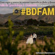 """Tiempo de descubrir #Ensenada & #Valledeguadalupe en #BDFAM ... """"Como viajan y conocen los máximos exponentes de bodas y romance"""". Una experiencia con sabor a vino y mar. De lujo. Con apoyo de @lupitapremier  CUPO LIMITADO. Photo: @rafael.photographer http://ift.tt/2lEis00 Info: hi@bodasdestinolatinoamerica.com"""