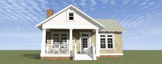 Quaint Couples Cottage - 44022TD | Cottage, Vacation, Metric, Narrow Lot, 1st Floor Master Suite, CAD Available, PDF | Architectural Designs