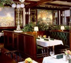 Old Ebbitt Grill Restaurant Review: Main Dining Room