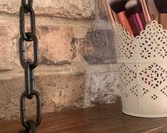 Set of 2 Unique Industrial Chain Bracket Kits   Etsy