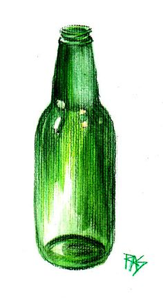 1000 images about bottle still life on pinterest green for How to color wine bottles