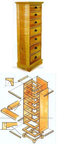 High Chest of Drawers Plans - Furniture Plans and Projects | WoodArchivist.com http://woodarchivist.com/765-high-chest-drawers-plans/?utm_content=buffer47679&utm_medium=social&utm_source=pinterest.com&utm_campaign=buffer