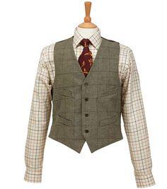 Islay Tweed Waiscoat | Tweeds from Fife Country