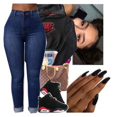 """""""Untitled #33"""" by chicbre ❤ liked on Polyvore featuring NIKE"""