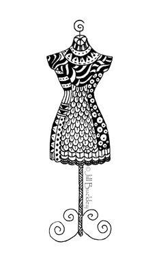 My Doodles - jill buckley - Picasa Web Albums.  Love her doodles.
