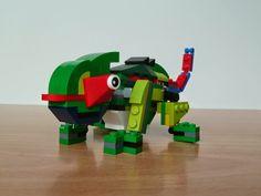 Totobricks: LEGO 31031 LEGO CREATOR 3 IN 1 2015 Rainforest Animals Chameleon (2/3) http://www.totobricks.com/2015/03/lego-31031-lego-creator-3-in-1-2015.html