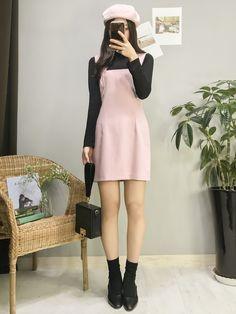 👙 The best korean Fashion Trends Outfits 👗 korean fashion clothes Korean Fashion Trends, Korean Street Fashion, Korea Fashion, Asian Fashion, Look Fashion, Daily Fashion, Teen Fashion, Fashion Design, Womens Fashion