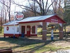 Landrum, SC - Old Time Esso Gas Station