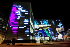 Image result for facade projection modern building