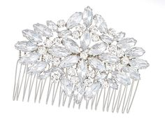 Marquise hair comb www.lhgdesigns.co.uk