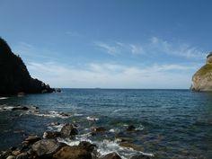 La Baia di Sorgeto (Terme), Isola Ischia Italia (Maggio)