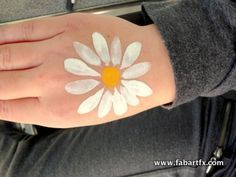 could be done a little smaller on a cheek. Face Painting Flowers, Face Painting Tips, Girl Face Painting, Face Painting Designs, Painting For Kids, Paint Designs, Simple Face Painting, Easter Face Paint, Fair Face