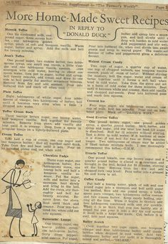 old recipe page 10-3-1937 neat recipes