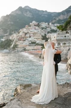 italian coastal wedding | destination wedding ideas