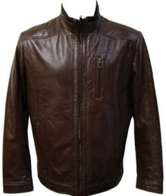 Be a trendsetter with mens brown racing leather jacket. Find the best deal on stylish leather jacket from our online store at MensUSA. Custom Leather Jackets, Leather Jackets For Sale, Stylish Mens Fashion, Best Mens Fashion, Revival Clothing, Men's Leather Jacket, Jacket Men, Trends, Mens Clothing Styles