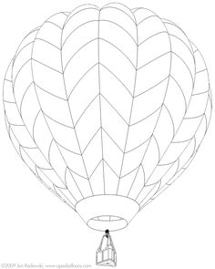 Hot Air Balloon Coloring Page . 30 Inspirational Hot Air Balloon Coloring Page . Printable Hot Air Balloon Coloring Pages for Kids Air Ballon, Hot Air Balloon, Stained Glass Designs, Stained Glass Patterns, Mylar Letter Balloons, Christening Balloons, Balloon Template, 4 Elements, Balloon Pictures
