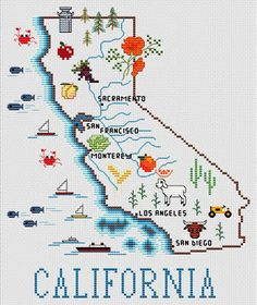 13 Best California Map Images California California Map Maps