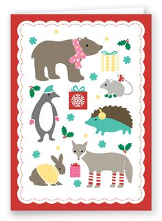 Christmas Card | Folded Words