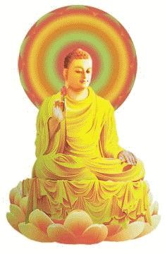 Do you know Buddha? Do you know Buddha's Teachings? Buddha's Teachings are for you. Amitabha Buddha, Happy Sunday, Buddhism, Golden Age, Colours, Pure Products, Gaia, Awakening, Artwork