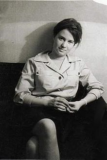 Ulrike Meinhoff. German journalist. Associated with, but generally not considered to be of, the Red Army Faction.