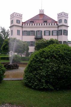 Schloss Possenhofen am Starnberger See. Sissis Heimat