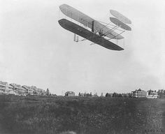 September 9, 1908 - Orville Wright makes his first one hour airplane flight in Fort Myer, Virginia.