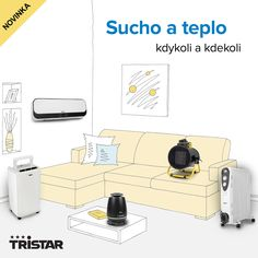 Nová topidla a odvlhčovače vzduchu Tristar Nasa, Shopping