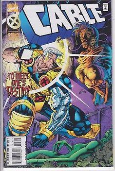 Cable #23 Marvel Comics 1993 Vol. 1 series Deadpool X-men 23D Deluxe edition