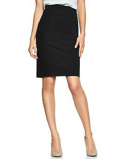 Could be a great option for a pencil skirt? Definitely try one on when you go to the GAP.