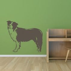 Border Collie Wall Sticker Dog Wall Art