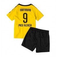 Borussia Dortmund Paco Alcacer #9 Replica Home Baby Kit 2019-20(+ Short pants) Short Sleeve