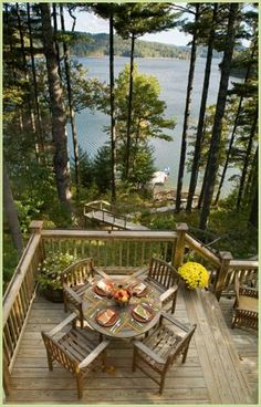 Cabin Homes . Rustic Cabin Rental at Lake Glenvill, Cashiers, NC Lakeside Living, Outdoor Living, Outdoor Spaces, Lake Cabins, Cabins And Cottages, Nc Cabin Rentals, Plan Chalet, Haus Am See, Cabin Homes