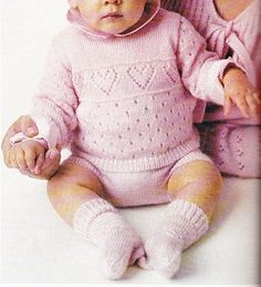 Knitting For Kids, Baby Knitting, Pull Bebe, Baby Girl Patterns, Baby Co, Baby Wearing, Blog, Pullover, Sweaters