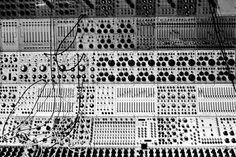 Buchla modular synthesizer, via urbanfragment