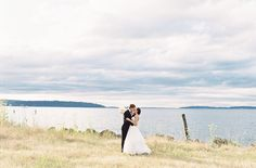 A beautiful photo in Port Gamble  Photography: OMalley Photographers - omalleyphotographers.com  Read More: http://www.stylemepretty.com/2014/11/19/elegant-literary-wedding-in-port-gamble/