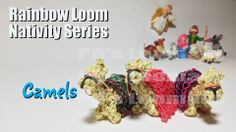 Pg David. Rainbow Loom. Nativity Series: CAMELS. See You tube video on Tutorials board.