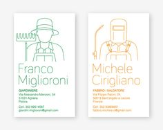 Italian Small Trades on Behance