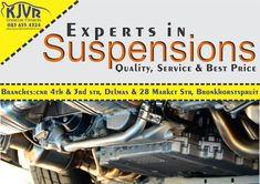 Suspensions @ Bronkhorstspruit and Delmas The suspension is the system of tires, tire air, springs, shock absorbers and linkages that connects a vehicle to its wheels and allows relative motion between the two.
