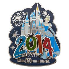 Cinderella at Cinderella Castle Pin - Walt Disney World 2014