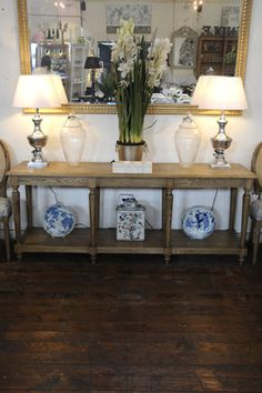 Felice Long Console Table from One Rundle Trading Co - for the Dining Room