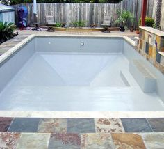 Diy Pool Resurfacing Inspirational How to Build A Concrete Block Swimming Pool Summervibes. Poured Concrete Patio, Concrete Blocks, Swimming Pool Repair, Piscine Diy, Pool Paint, Diy Pool, Small Pools, Building A Deck, Cool Pools