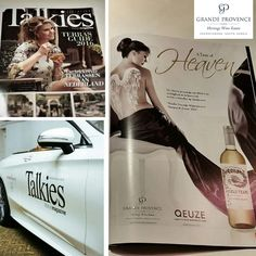 An effective, beautiful advert of our Angels Tears Sauvignon Blanc currently published in a Holland magazine called Talkies Magazine.